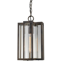 Transitional Outdoor Hanging Lights by HedgeApple