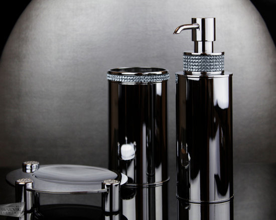 Bathroom Accessories With Swarovski Crystal And More