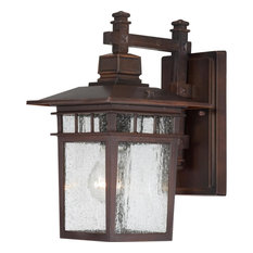 """Nuvo Lighting 60/4952 Cove Neck 1 Light 11-3/4"""" Tall Outdoor Wall - Rustic"""