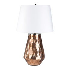 Surya - Lyla Portable Lamp, Base Antiqued - Table Lamps