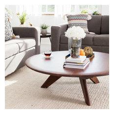 Parker Coffee Table, Light Mahogany
