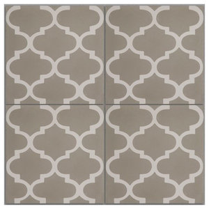 Trellis Pattern Tiles, Set of 12
