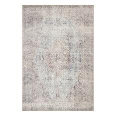 "Silver Slate Loren LQ-04 Printed Area Rug by Loloi, 7'6""x9'6"""
