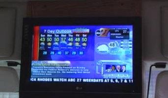 Upgraded Hi Def 12v flat screen tv for rv