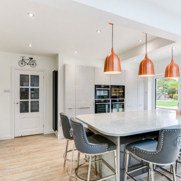 Glossy Nobilia Kitchen in Angmering, West Sussex