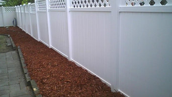 fence projects wood/ vinyl