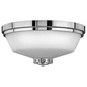 3-Light Bathroom Flush