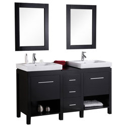 Trend Contemporary Bathroom Vanities And Sink Consoles by XOMART