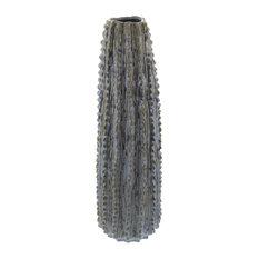 """GwG Outlet Ceramic Cactus, Vase, 6""""x20"""""""