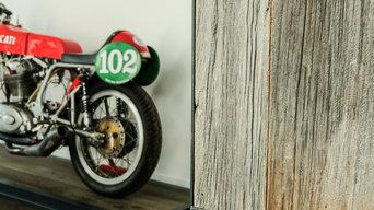 Bardage vieux bois de récupération