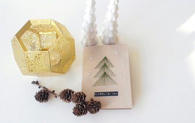 DIY Project: String Art Christmas Cards