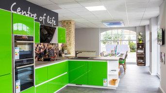 Hochglanzküche Grün - RAL Lackiert im Küchenhaus Arnstadt