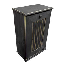 traditional trash cans | houzz