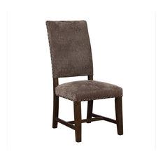 Coaster Parson Chair Gray Set Of 2