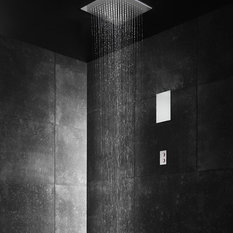 Image result for .faucet strommen Doccinox 380 x 380 Flush Ceiling Rain Shower