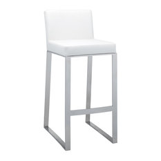 Architect Barstool, White