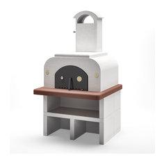 Piralla - Palazzetti FORNO MEDIUM Barbecue Outdoor Cooking Pizza Oven By Paini - Outdoor Pizza Ovens