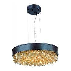 Mystic 22-Light LED Pendant, Bronze