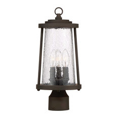 """The Great Outdoors 71226-143 Haverford Grove 3 Light 7-1/4"""" Wide Landscape Sing"""