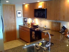 Maple Cabinets Baltic Brown Granite Help With Floor Choice