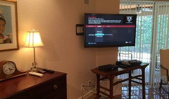 CORNER TV MOUNTING SERVICE