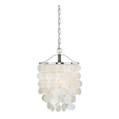 Capiz shell pendant lighting houzz vaxcel elsa capiz shell 105 mini pendant light pendant lighting aloadofball Choice Image