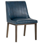 Basin and Vessel - Sovo Richerd Dining Chair Vintage Blue, Set Of 2 - SOVO Talen armchair giotto shale grey