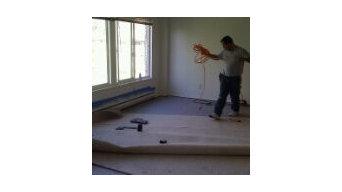 Carpet installation project