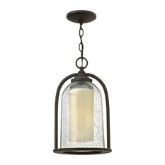 Hinkley Quincy Outdoor Large Hanging Lantern, Oil Rubbed Bronze