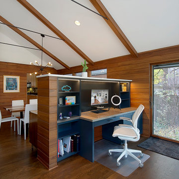 Office Niche in Family Room