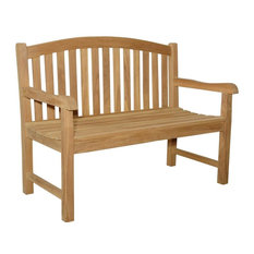 Chelsea Unfinished 2-Seater Curve Back Bench