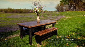 Junk Henry Custom Table With Two Benches