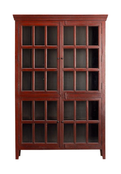 Will This Large Red Cabinet Work In My Space