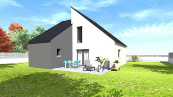 Nos maisons contemporaines 3D