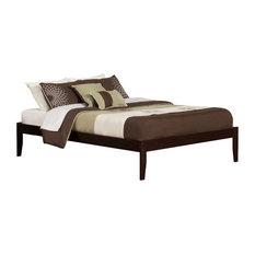Concord Open Foot Bed, Espresso, Queen