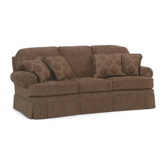 Semi-Attached Back Sofa w Cushion (Fabric: Am