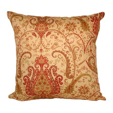Krishna Square Polyfill Insert Throw Pillow With Cover, 18x18