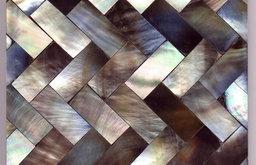 Grey Herringbone 10cm Tile