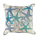 "L110 Starfish Gala, 18""x18"" Square Pillow"