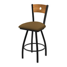 830 Voltaire 36-inch Swivel Counter Stool Medium Back And Canter Saddle Seat