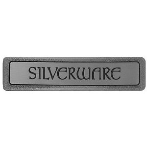 """Notting Hill """"Silverware"""" (Horizontal) Pull - Antique Pewter"""