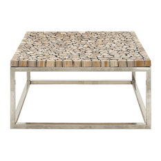 eclectic coffee and accent tables | houzz