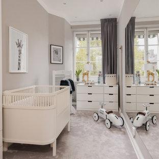 Idéer för ett klassiskt babyrum