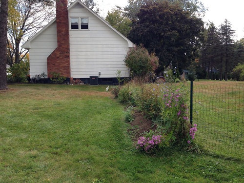 Disguising A Raised Bed Septic System