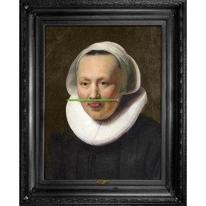 """The Green Pencil"" Canvas Print, 138x173 cm"