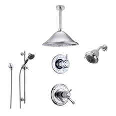 Delta Cassidy Collection Chrome Finish Custom Shower System SS17T9793