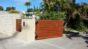 Horizontal Fence & Swing Gate