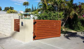 Horizontal Fence & Swing Gate