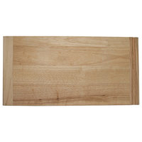 Omega National Rubberwood Bread Board, Solid Wood 3/4x16x23.5