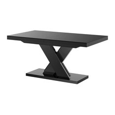 XENNA LUX Extendable Dining Table, Black